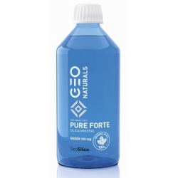 GEONATURALS, PURE SILICA FORTE - Krzem Forte 200 mg x 500 ml ALINESS