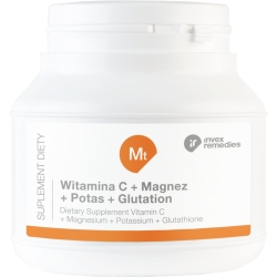 SUPLEMENT DIETY MT WITAMINA C+ MAGNEZ+ POTAS+ GLUTATION 150G