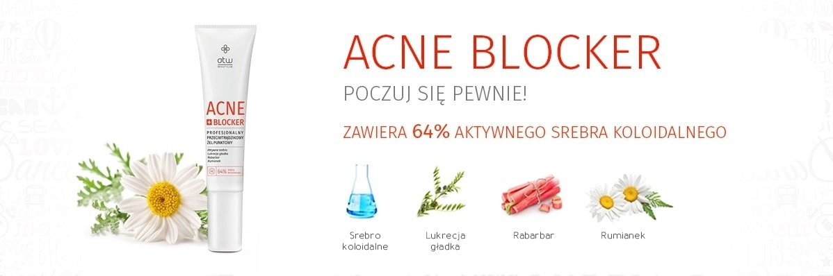 Acne Blocker Srebro